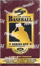 1996 SCORE SERIES 1 BASEBALL BOX LOOK FOR NUMBERS GAME BIG BATS DREAM TEAM