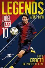 Poster Football - Lionel Messi 10 - Legends  ca60x90cm NEU!!  58130