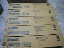 New ! 5PK Genuine Minolta QMS Magicolor 330 Color Printer Toner 1710322-001, 2 3