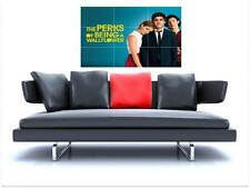 "THE PERKS OF BEING A WALLFLOWER BORDERLESS MOSAIC TILE WALL POSTER 35"" x 25"""