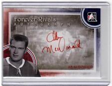 AB McDONALD 11/12 ITG Forever Rivals Auto Autograph A-AM Red Montreal Canadiens