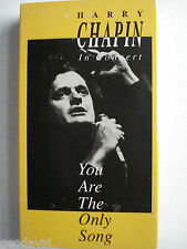 """Harry Chapin In Concert """"You Are The Only Song""""  formerly The Final Concert VHS"""