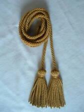 Kordel gold m.2 Quasten f. Trachtenhut etc. DT.PRODUKT/Handmade in Germany!