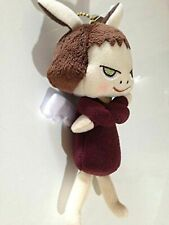 Yoshitomo Nara Plush doll Stuffed Toy Black Blackguard Angel  With Ball Chain