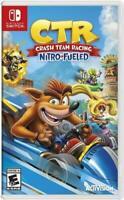 Nintendo Switch CTR Crash Team Racing Nitro Fueled Brand New Sealed