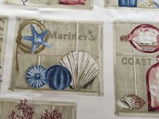 Beachcomber Curtain Upholstery Fabric Cotton Craft By the Metre Prestigious