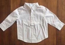 NWOT Boys JANIE AND JACK LONG SLEEVE DRESS SHIRT Plaid Checks  SIZE 18-24 MONTHS