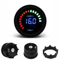 2'' 52mm 12V Auto Motorrad Spannungsanzeige LED Digital Voltage Meter Voltmeter