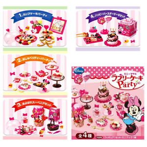 Rare 2012 Re-Ment Disney Minnie Mouse Lovely Cake Party (Each Sell Separately)