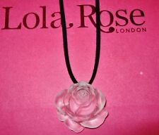 Crystal Lola Rose Costume Necklaces & Pendants