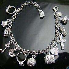 Very Beautiful Silver Charm Bracelet