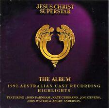JESUS CHRIST SUPERSTAR 1992 CD Australian Cast John Farnham Jon Stevens Ceberano