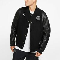 Nike PSG Paris Saint Germain Bomber Jacket Destroyer BQ8363-010 Msrp $600 C