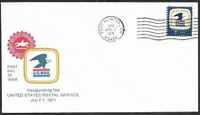 Mr B's Inaugurating US Post Office - Port Clinton, OH 1971 - First Day Issue