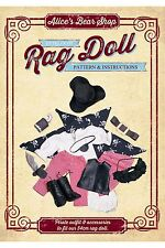 Heirloom Rag Doll Outfit Pattern & A5 Instruction booklet  - Pirate Outfit