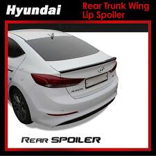 New Rear Trunk Wing Lip Spoiler Painted for Hyundai Elantra 2017 Elantra AD