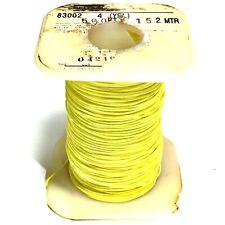 ^ Belden 83002 006 500ft (152m) PVC Hook Up - 26 AWG - 600V - YELLOW