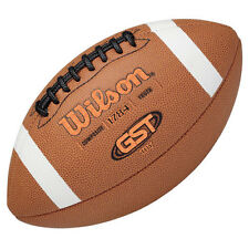Wilson® Gst® Composite Leather Football - Youth, 12-14