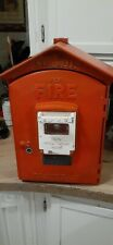 Gamewell fire call box alarm Game Well