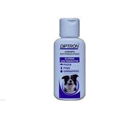 Champú antiparasitario para perro anti pulgas, garrapatas y piojos DIPTRON 500ml