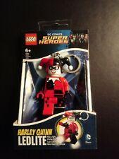 LEGO  DC COMICS SUPER HEROES  HARLEY QUINN   LLAVERO LINTERNA LED. NUEVO