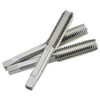 Swordfish 8034 Metric Alloy Steel Hand Threading Tap Set of 3 pcs Bottoming Plug Taper Uncoated Finish Square End M3x0.5