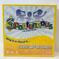 SPONTANEOUS The Board Game of LYRICS and Songs MUSIC LOVERS New Sealed BOX