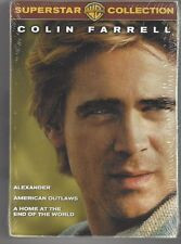 Colin Farrell - Super Star Collection (DVD, 2006, 4-Discs) New/Sealed, Free Ship