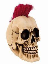 Totenkopf Punker Schädel Totenköpfe Gothic Skull Dekoration Larp Mystik Deko NEU