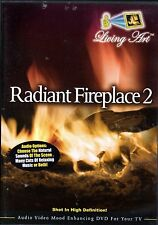 RADIANT FIREPLACE 2: VIRTUAL CHRISTMAS HOLIDAY SCENES w/ RELAXING MUSIC & SOUNDS