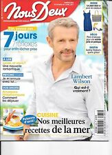 NOUS DEUX N° 3639--INTERVIEW LAMBERT WILSON/ARNAQUES TELEPHONIQUES