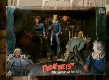 Original NECA Friday the 13th 25th Anniversary Boxed Figure Set