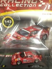 Modellino Auto Macchina Ferrari Racing Collection n 52 F40 GTE 1996 Scala 1:43