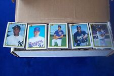 1990 BOWMAN COMPLETE 528 CARDS BASEBALL SET-THOMAS RC-GRIFFEY JR-RYAN-BRETT-