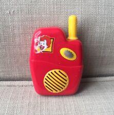 McDonald's Drive Thru Walkie Talkie Fake Play Toys WORKS!!
