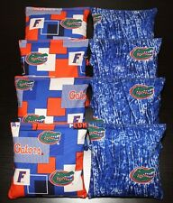 University of Florida Gators Camo 8 Cornhole Bean Bags Aca Regulation