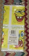 """New-Amer.Gr. PlasticTablecover-Sponge Bob 54""""x96""""(137.16 cmx243.84cm) Leak Proof"""