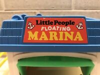 Vintage Floating Marina 2582 Fisher Price Little People Playset Only Marina FUN!
