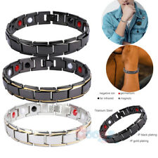 Therapeutic Energy Healing Copper Magnetic Bracelet Therapy Arthritis Men Women