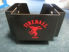 Fireball Whisky Bar Napkin & Straw Holder Way Cool for your personal BAR!!