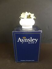 Aynsley Bone China Flower of the Month Floral Ornament Jasmine New & Boxed
