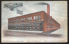 POSTCARD CHICAGO IL/ILLINOIS MIDDLEBY OVENS FACTORY PROMO AD