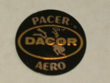 Vintage Dacor Regulator Parts Decal Sticker for Pacer Aero 2nd Stage Regulators
