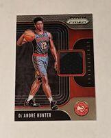DeAndre Hunter ROOKIE Patch Atlanta Hawks 2019-20 Prizm Sensational