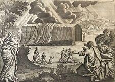 Moïse le tabernacle Jacob Matham d'après Hendrick Goltzius 1606 - 1652 Israël