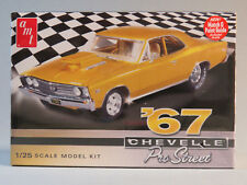 AMT 1967 CHEVELLE PRO STREET MODEL CAR KIT plastic 1:25 Scale 876/12 NEW