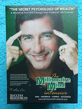 The MILLIONAIRE MIND intensive Live Seminar Video DVD Audio CD SUCCES RESOURCES