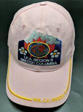 INTERNATIONAL POLICE ASSOCIATION IPA British Columbia pink adjustable cap / hat