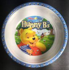 "RARE! Zak Designs Kellogg's Disney Winnie the Pooh Hunny B's Melamine Bowl 5.5"""