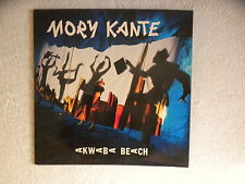 "LP MORY KANTE ""Akwaba beach"" BARCLAY 833 119-1 FRANCE µ"